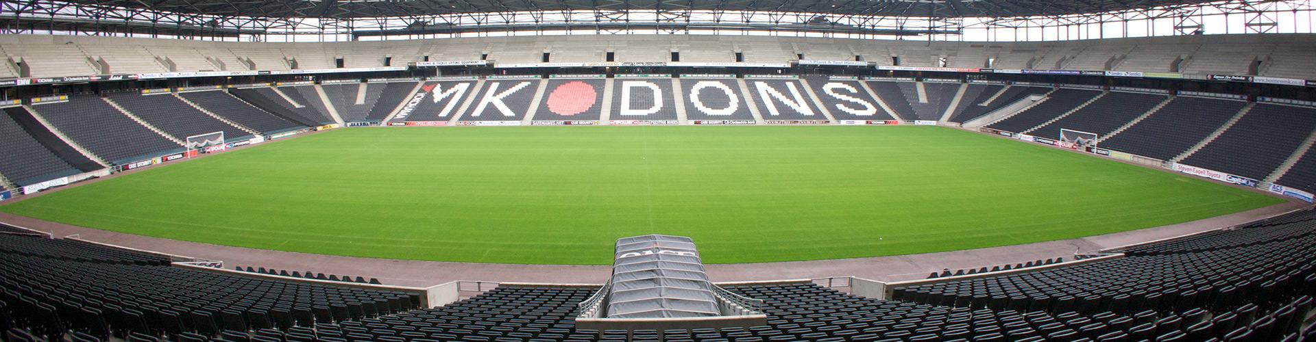 MK Dons Home Slider