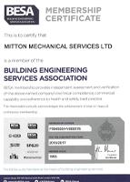 BESA Certificate