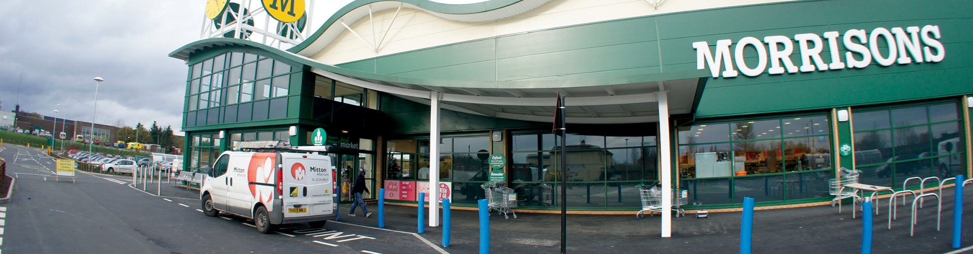 Morrisons Store Facade