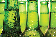 Carlsberg green bottles