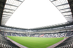MK Dons Stadium Fish Eye