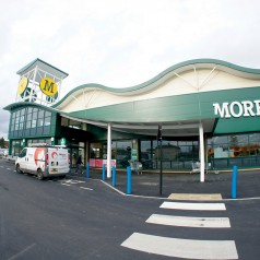 Front Of Morrisons Store