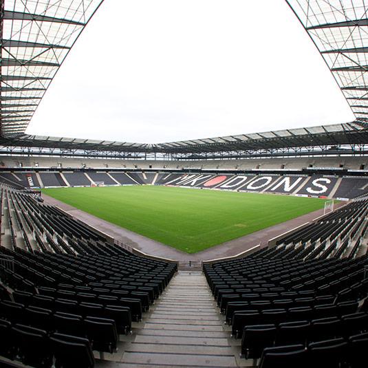 Stadium MK football ground