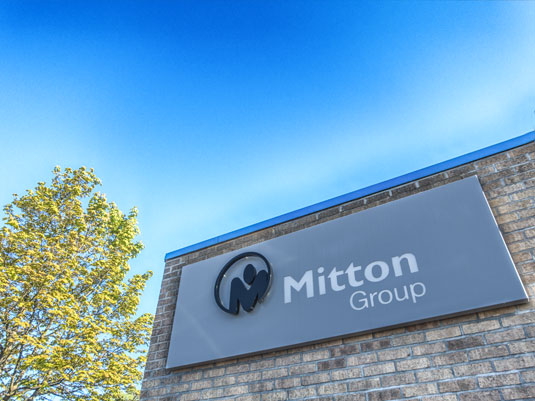 building services specialist the Mitton Groups building facade