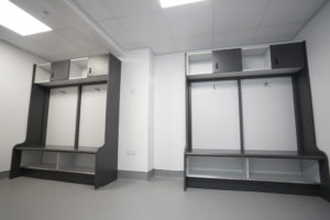Changing rooms fully realised with BIM services