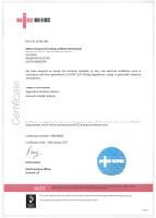 NICEIC Certificate