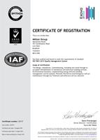 BM Trada Certificate