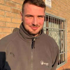 Harrison Whittaker one of Mittons successful apprentices