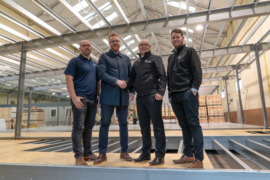 Enviro Building Solutions Shake On THe Deal with Mitton
