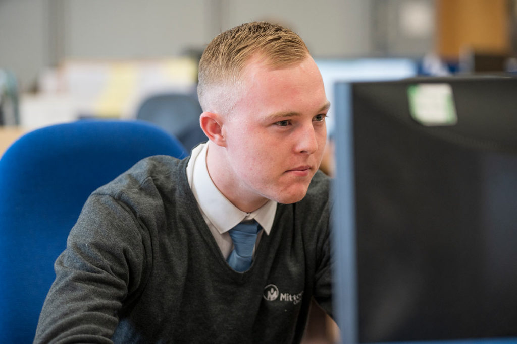 Mitton Group apprentice James Grace