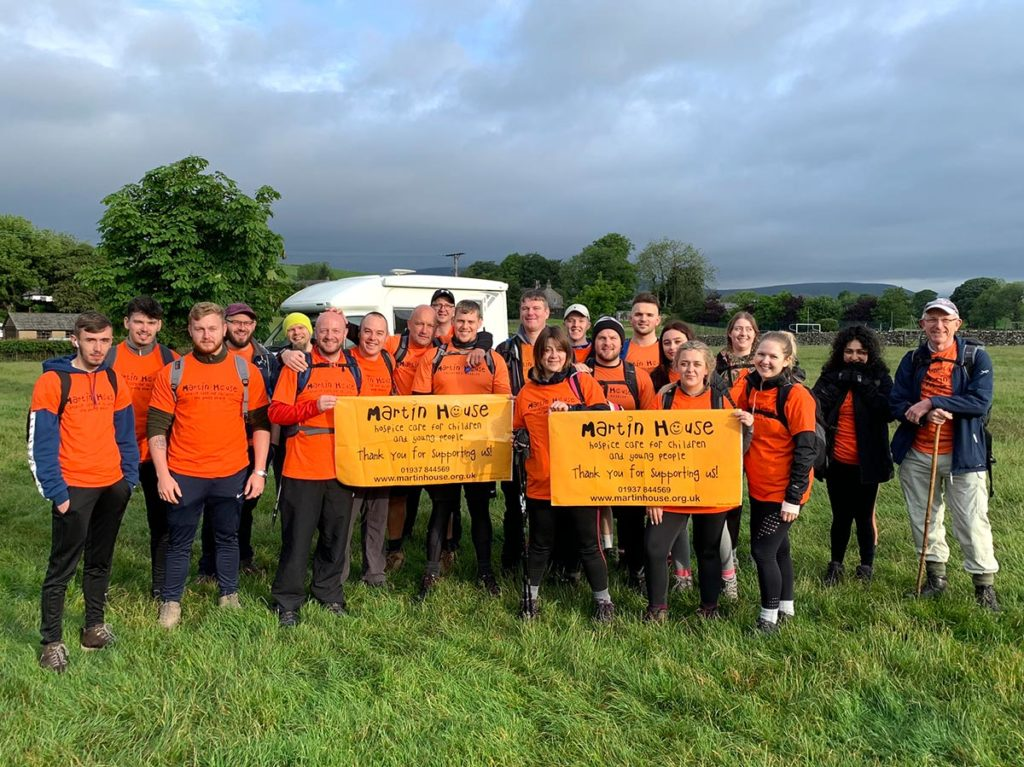 Mitton Group undertake 3 Peaks in support of Martins House Hospice