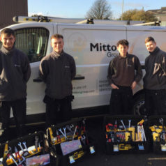 Mitton Group Apprentices receive their Tool Kits