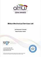 Altius Mechanical Certificate