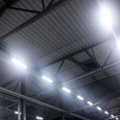 Lighting in a warehouse